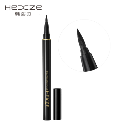 Authentic Korean HEXZE / Han Xizhen charm anticorona lasting waterproof liquid eyeliner is not blooming Makeup