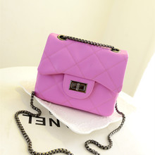 In the summer of 2015 the new chain lady handbags small pure and fresh and ling, single shoulder bag inclined across small sweet wind mini party bag