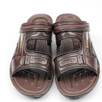 2015 summer in the middle age the old soft bottom slippery sandals men slippers dad leisure and cool