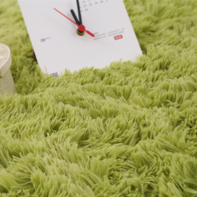 Modern living room rug coffee table thickened Silky carpet pad bedroom bed blanket slip mats doormat can be customized