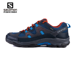 Salomon萨洛蒙防水越野徒步鞋 男款低帮登山鞋 G0RE-TEX  LOMA