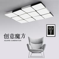 北欧简约现代大气客厅灯 led超薄长方形吸顶灯卧室灯创意大厅灯具