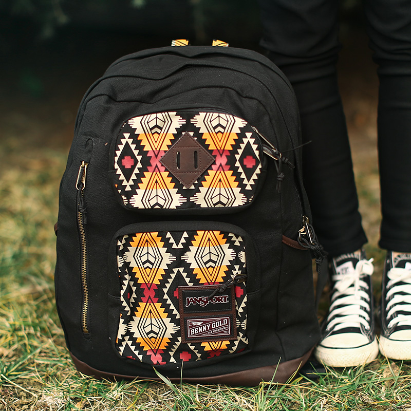 JANSPORT X BENNY GOLD NATIVE DUBOCE T33L 008 男女同款双肩包
