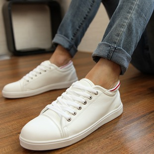 Korean popular British men breathable canvas shoes fashion