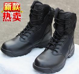 军靴男特种兵秋_