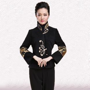 2014女装上衣中老年唐装中年妈妈装秋装中国风改良春装外套