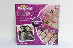 Crayola creations set diseno de unas fashion 手工指甲油