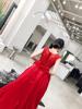 小Q家定制新娘结婚敬酒晚礼服水溶蕾丝性感气质大红年会长裙