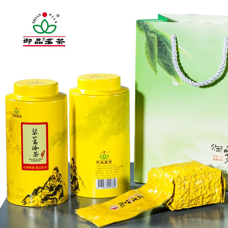 [买二送一]御品台湾高山茶梨山高冷茶进口有机乌龙茶花果香150克
