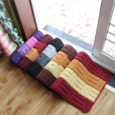 Foyer entrance door mats doormat home bathroom kitchen bathroom absorbent pads slip rug pad
