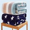 冬季珊瑚绒毯子法兰绒毛毯加厚床单1.8m办公室单人午睡毛巾小被子