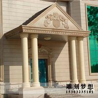 大理石罗马柱子欧式室内石柱子装饰天然石材石柱别墅石雕特价精品