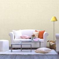 韩国壁纸 卡拉 简约纯色亚麻纹理 宜家客厅卧室墙纸 2163 现货