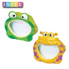 INTEX gout animal masks paddle 55910 children swimming goggles mask Diving glasses 3 to 10 years