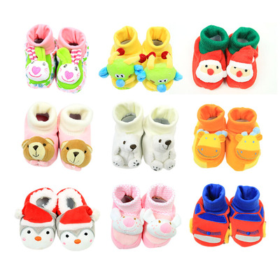 Baby steps before baby shoes toddler shoes warm winter models thick warm front 0-1 years old newborn step shoes toddler shoes