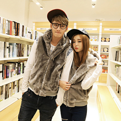Good clothing House vest vest new winter influx of men and male Slim Korean fashion lovers hooded vest jacket