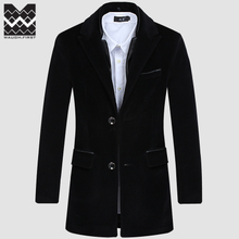 Waugh First Autumn / winter 2014 Business Casual Recreation of England in the Men's Long Slim Fit Trench Coat Mens Collar Suit Jacket