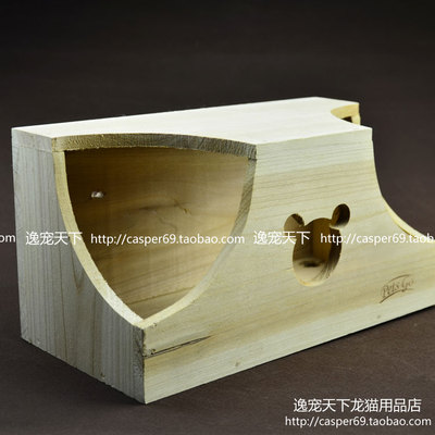 Yi pet chinchillas world Oxytropis double helical door window wooden nest couples couples without nails g fixed