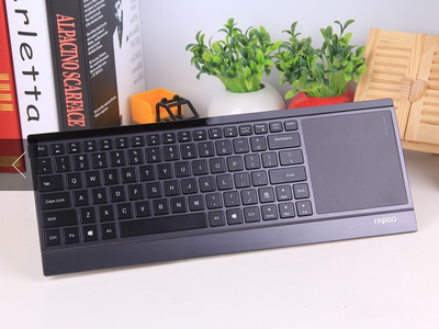 Pennefather E9090P wireless backlit keyboard glare of high-end ultra-thin touch 5G USB keyboard game kit cf