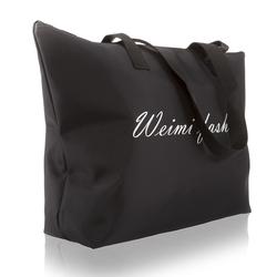 欧美尼龙女包大包防水单肩包手提健身包拉链购物袋帆布环保袋布包