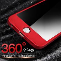 飚爱苹果5s手机壳iPhone5s套全包5磨砂防摔se个性创意女款红潮男