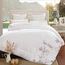 冬季羽丝绒棉被芯全棉被子纯棉褥子双人单人加厚保暖冬被特价包邮
