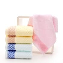毛巾纯棉高档 加厚不掉毛柔软吸水全棉家用洗脸面巾全棉结婚送礼
