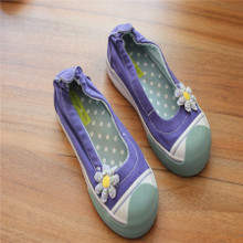 2015 children defect special processing caveat emptor canvas shoes The boy girl children shoes 008