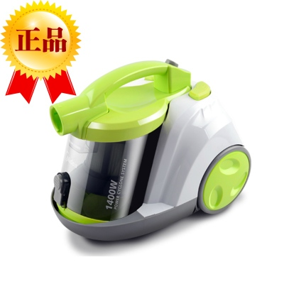 Genuine free shipping US high-power ultra-quiet vacuum cleaner household strong push small mini mites machine vertical