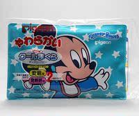 日本原装 贝亲米奇宝宝发烧冰枕/发烧降温安眠双用枕头 上海现货