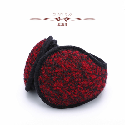 Cheng Lake Lo 2014 new winter female cute plush ear package earmuffs ear wild wool bags Post