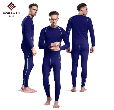 However, warm air cool outdoor sports underwear male models feature tight riding perspiration wicking fleece autumn and winter