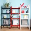 温馨宜家IKEA勒伯格搁板柜置物架花架厨房收纳架钢书架储物架