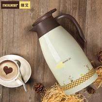 维艾家用保温壶开水壶热水瓶保温瓶暖壶杯户外304不锈钢大容量2L