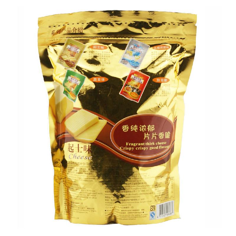 【知心奶奶】AJI尼西亚惊奇脆片 黄金起司味200g 办公休闲零食
