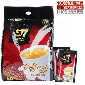 【热销41万特价全国包邮】越南原装进口3合1中原g7速溶咖啡800g