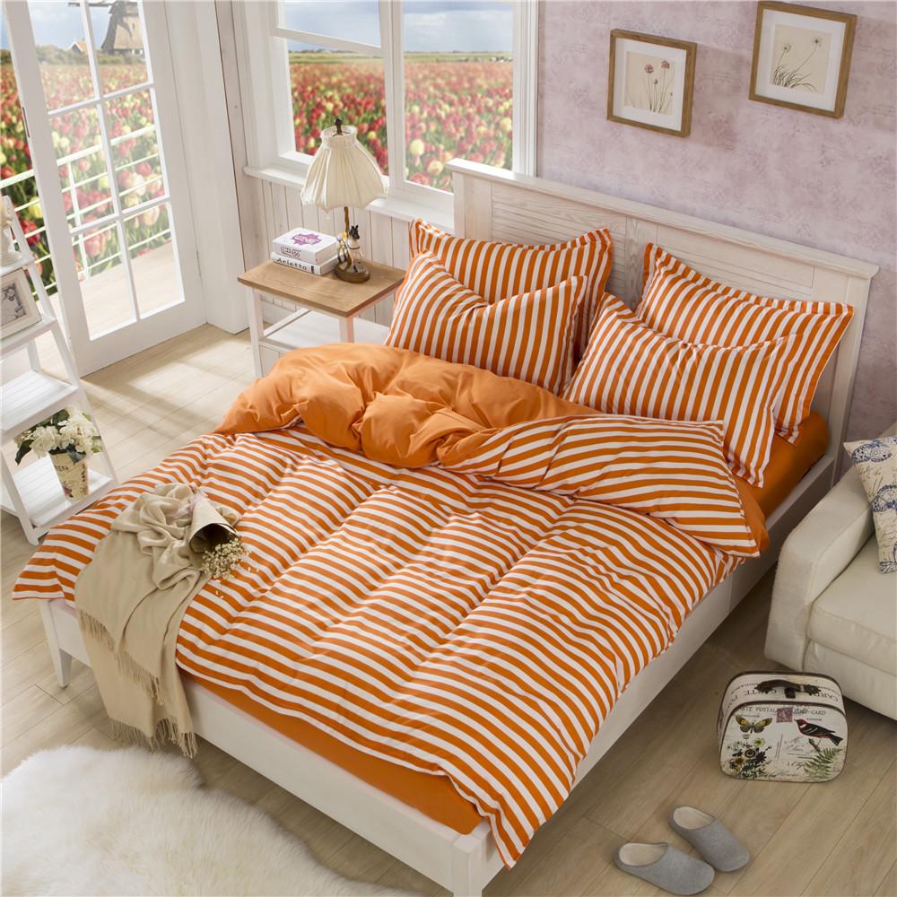 欧式家纺床品春季斜纹活性印花纯棉四件套