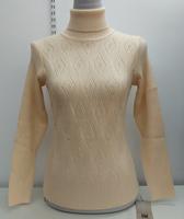 青藏绒羊毛衫专卖纯羊毛女式两翻领弹力衫Q-0072专柜正品特价包邮