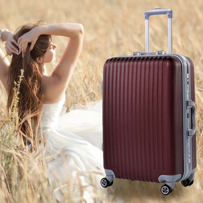 The trend of men and women travel bags Trolley Wheels 20-inch 24-inch 28-inch trunk extension board chassis suitcase