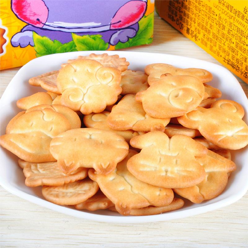 韩国进口crown可拉奥小动物饼干儿童食品宝宝磨牙零食饼干辅食