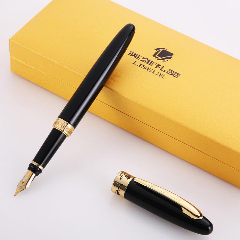 英雄礼赞931钢笔 旋转笔帽 高级铱金笔 英雄钢笔 学生练字钢笔
