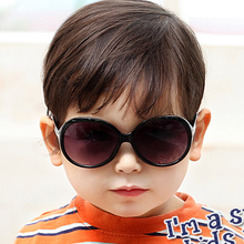 Han edition baby children's sunglasses sunglasses package mail boy frog mirror uv protection glasses Han Guotong mirror of the girls