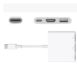 现货12寸Macbook USB-CDigital MultiportAdapterHDMI转换线包邮