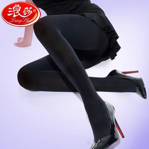 浪莎肉色丝袜女连裤袜防勾丝春秋