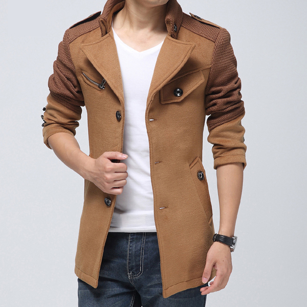 Xu Yi Men's 2014 fall and winter clothes new men's casual jacket Slim thick tide line youth winter coat