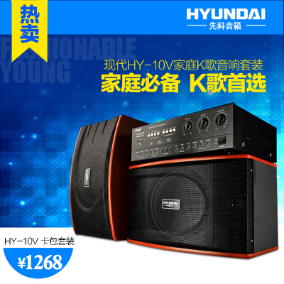 Yushchenko HY-10V speaker Morning outdoor stage active speaker stereo high-power speakers Zuheyinxiang