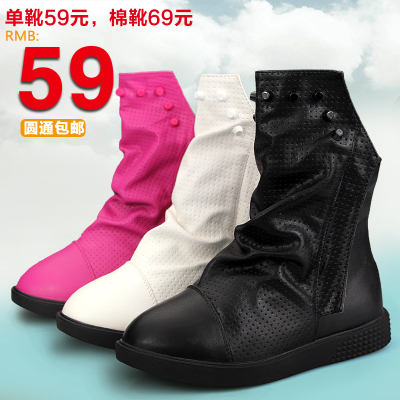 Free shipping wheat rabbit bite children's shoes cotton boots boots Martin boots princess girls over a long length 16.5cm