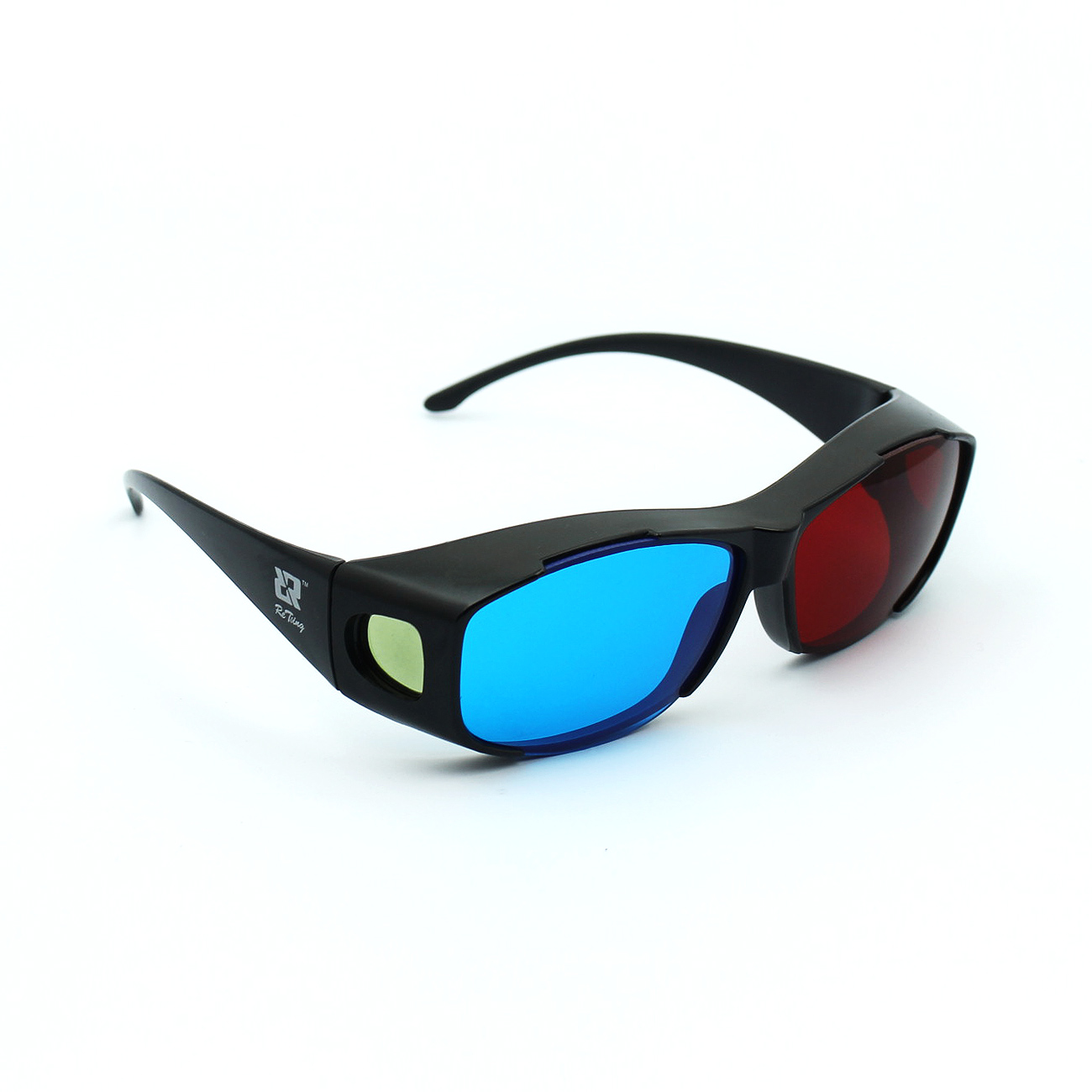 正品3D眼镜 暴风影音红蓝眼镜电脑专用3d立体眼镜三D眼睛近视通用