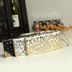 索爱2014新款女士长款钱包韩版金银色石头纹时尚女钱包潮流皮夹包