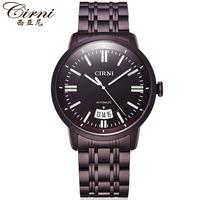 正品西亚尼 品质手表男士全自动机械表镂空时尚男表防水钢带6032
